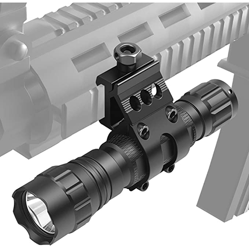 Feyachi 1inch Offset Picatinny Flashlight Mount